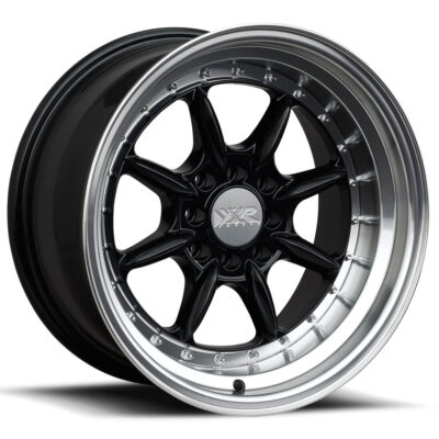 XXR-002.5 Black machined by XR Wheels Switzerland