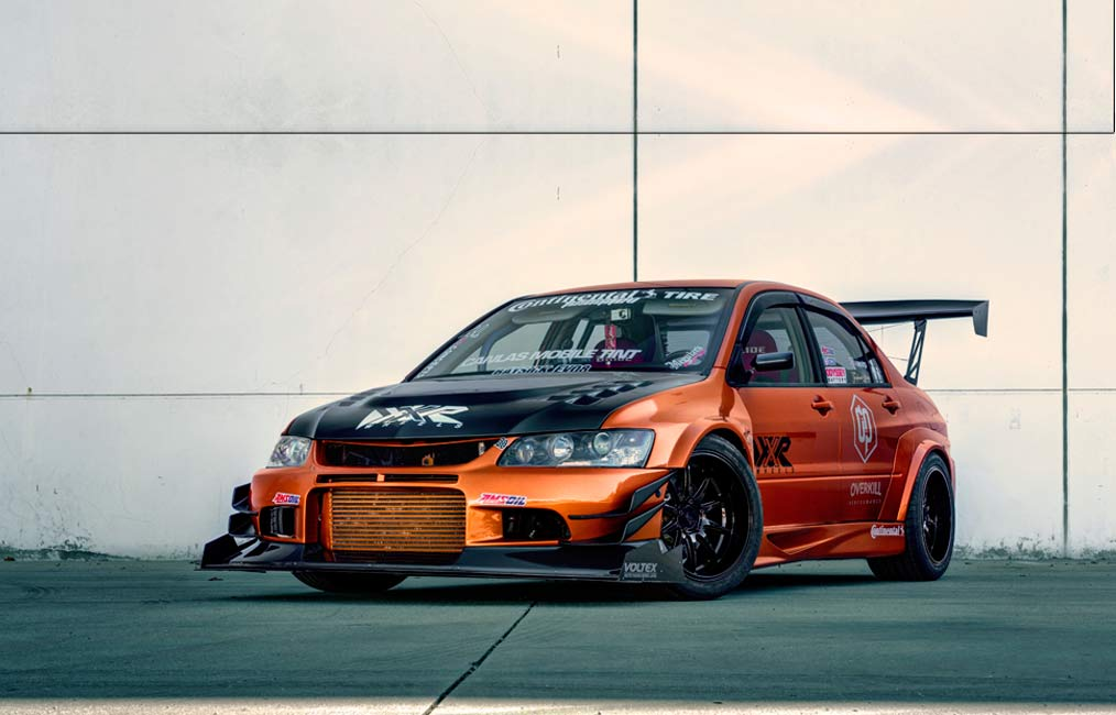 XXR 527D | Mitsubishi EVO 8 | by XXR Wheels Switzerland