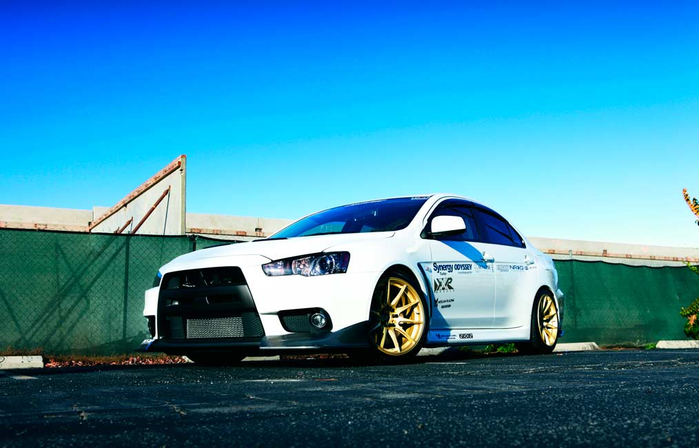 XXR 527 | Mitsubishi Lancer EVO | by XXR Wheels Switzerland
