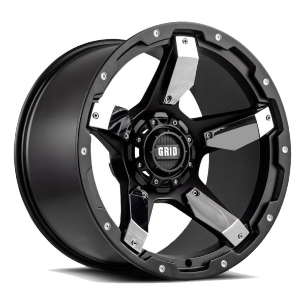 GD-4 | black chrome inserts | Grid Offroad Switzerland