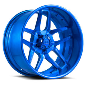 GF-2 | brushed blue| Forged | Grid Offroad Switzerland