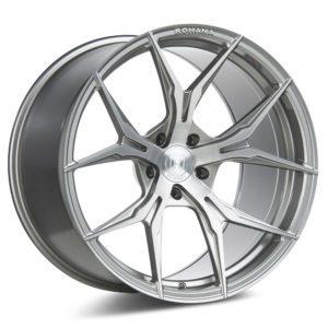 Rohana Wheels RFX5 | Brushed Titanium