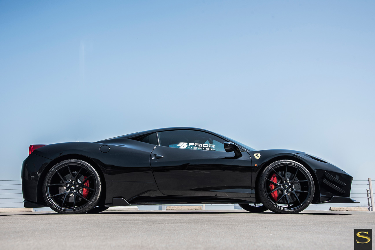 Ferrari | Black di Forza | BM 14 | by Savini Wheels Switzerland -1