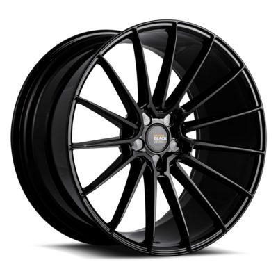 Black di Forza | BM 16 Gloss Black | Savini Wheels Switzerland