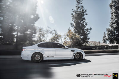 BMW 535i | Black di Forza | BM14 | by Savini Wheels Switzerland