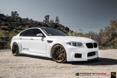 BMW 535i | Black di Forza | BM14 | by Savini Wheels Switzerland -1