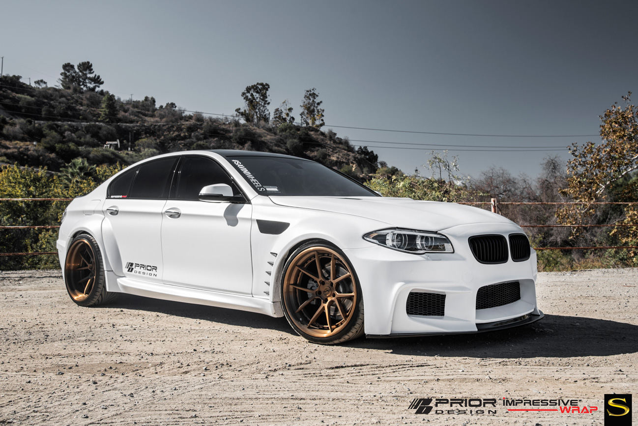 BMW 535i | Black di Forza | BM14 | by Savini Wheels Switzerland -1