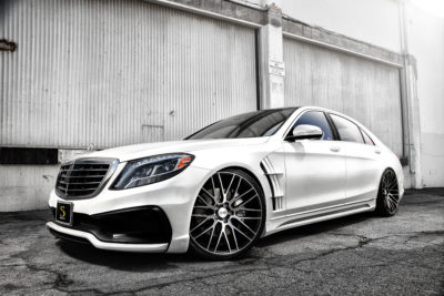 WALD Mercedes Benz S550 | BM13 | Machined Black | by Savini Wheels Switzerland