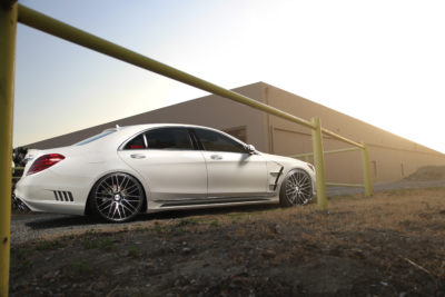 WALD Mercedes Benz S550 | BM13 | Machined Black | by Savini Wheels Switzerland-1
