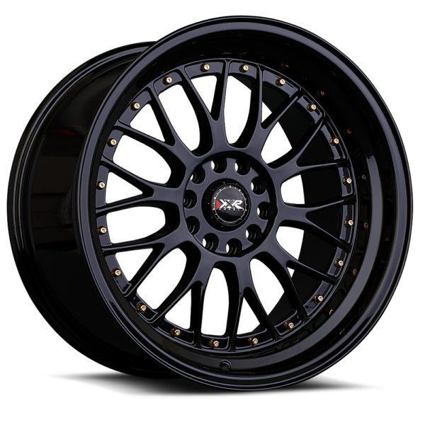 XXR-521-Gloss Black-Gold-Rivets-by-XXR-Wheels-Switzerland