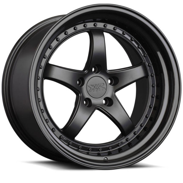 XXR-565-Flat Black-Gloss Black Lip-by-XXR-Wheels-Switzerland