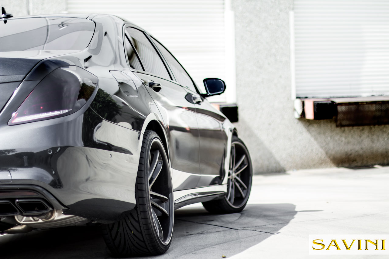 Mercedes Benz S63 | Savini Wheels |SV51C | by Savini Wheels Switzerland -1