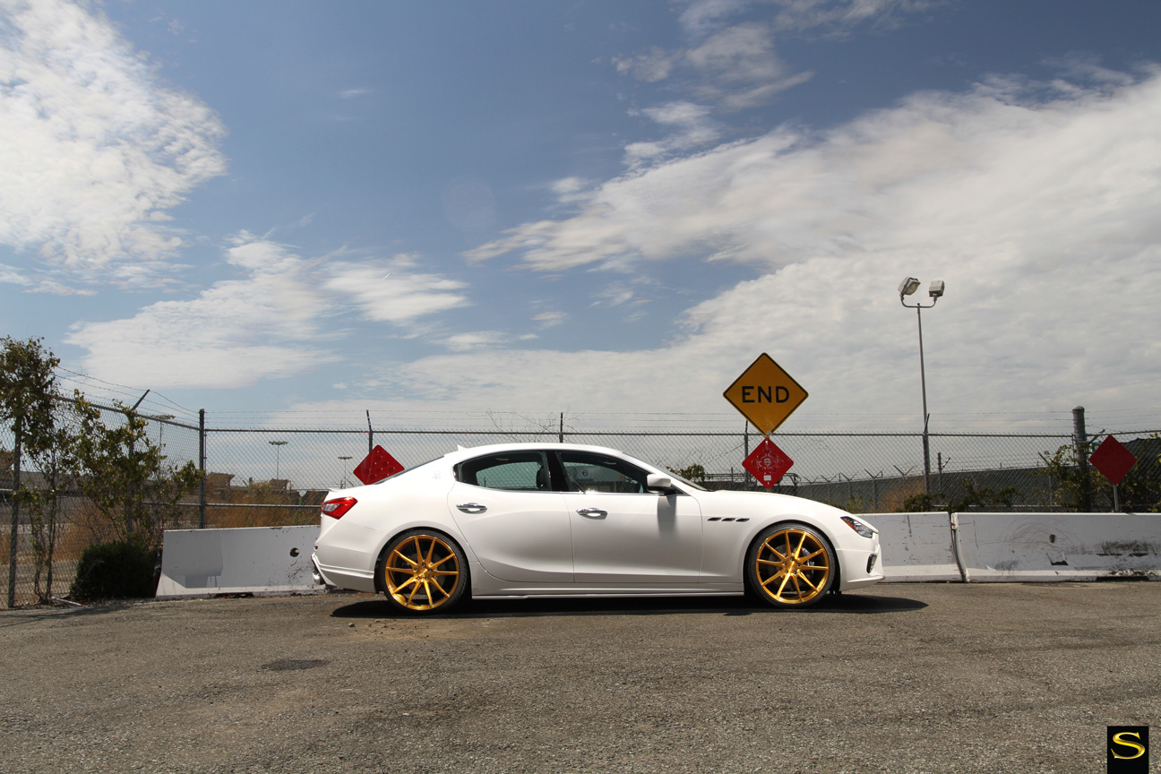 Maserati Ghibli |Black di Forza | BM12 | Brushed Gold