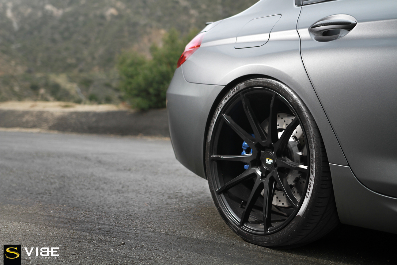 BMW M6 | Black di Forza | BM12 | by Savini Wheels Switzerland