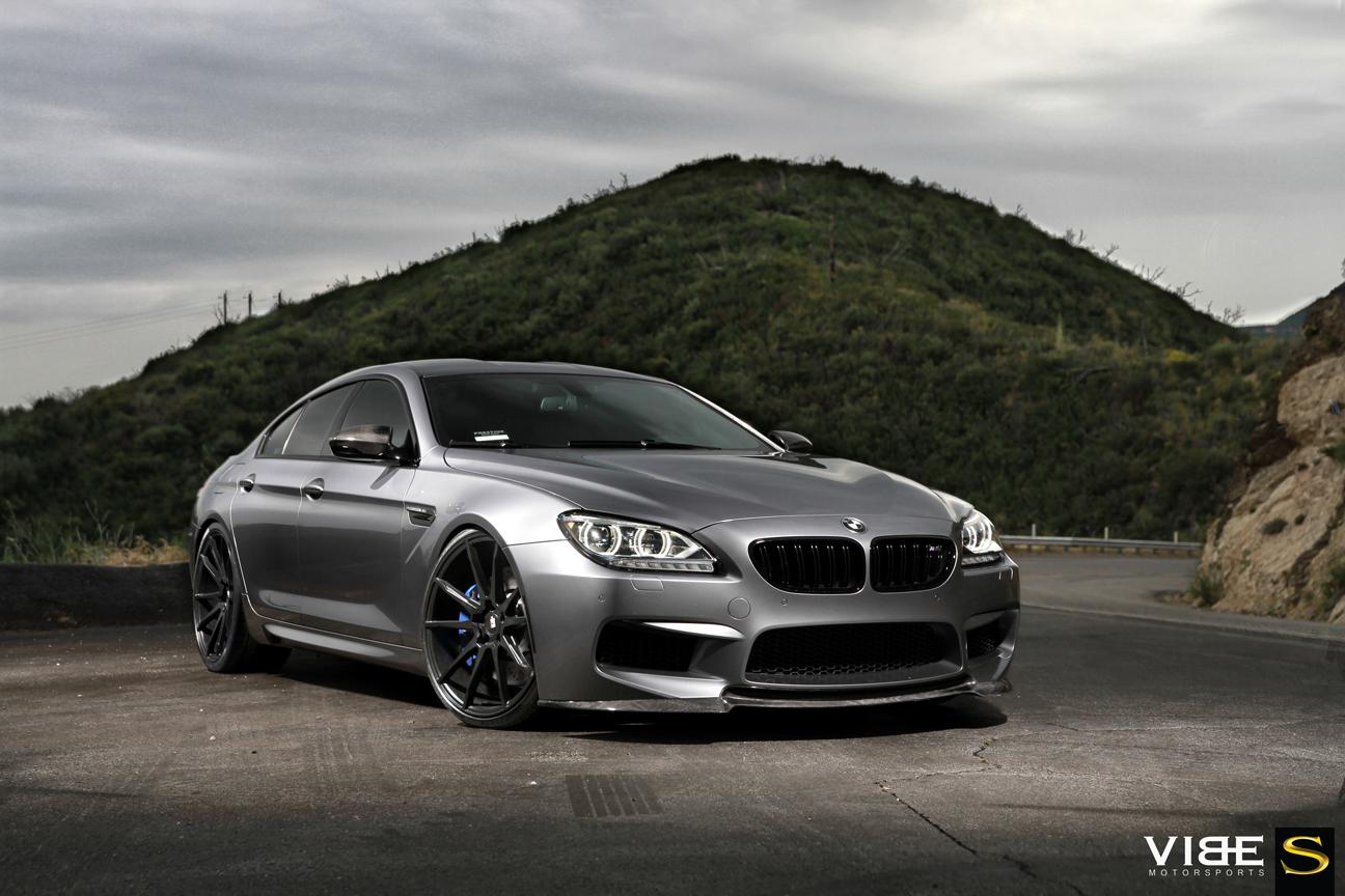 BMW M6 | Black di Forza | BM12 | by Savini Wheels Switzerland -1