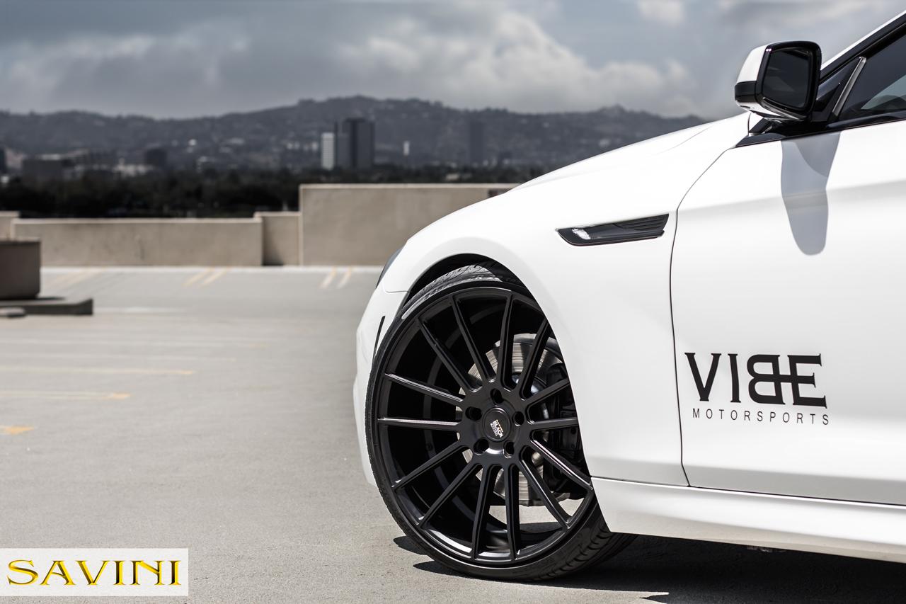 BMW 6-series | Black di Forza | BM9 Matte Black | by Savini Wheels Switzerland